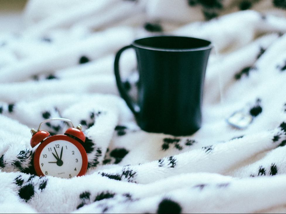 Coffee and Clock
